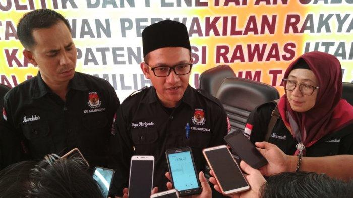 Ketua KPU Muratara  Agus Muryanto