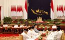 Pasca Pemilu Walau Beda Politik, Ketua MPR Bersama Presiden Saling Kunjung Buka Puasa Bersama
