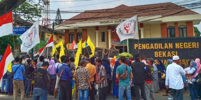 Warga Pilar Menduga Ada Kongkalingkong LBH Jakarta Dan PN Negeri Bekasi